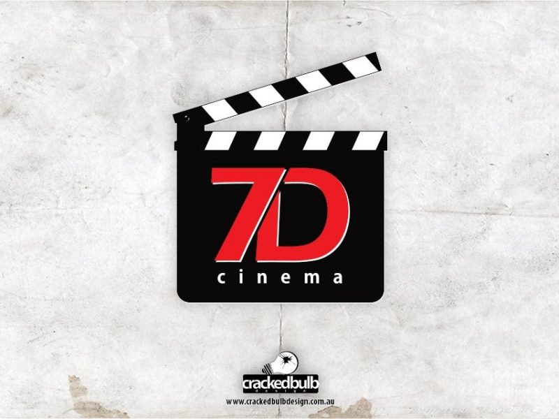 7D Cinema Logo Design