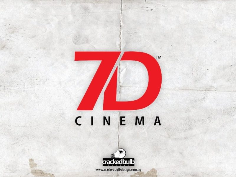 7D Cinema Logo Design V2