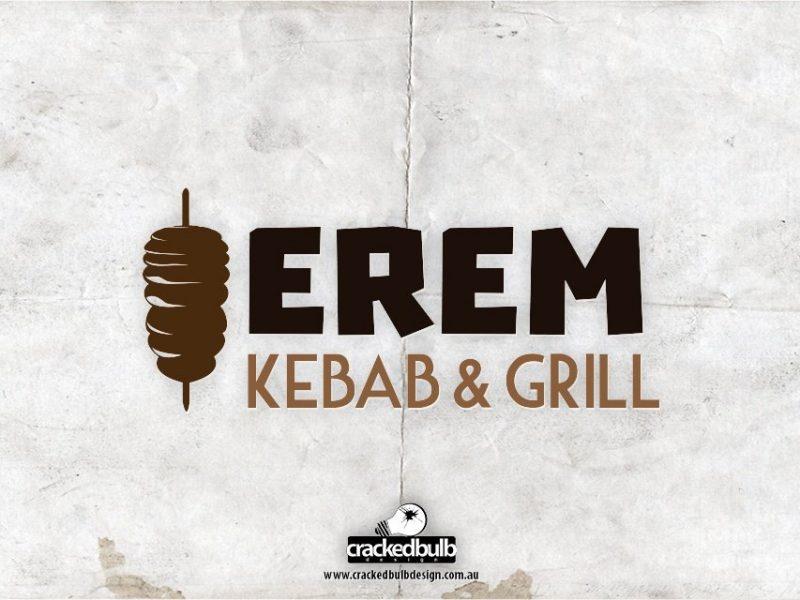 Erem Kebab & Grill Logo Design