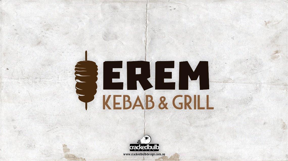 Erem-Grill-Kebab-logo-design-brisbane-cracked-bulb