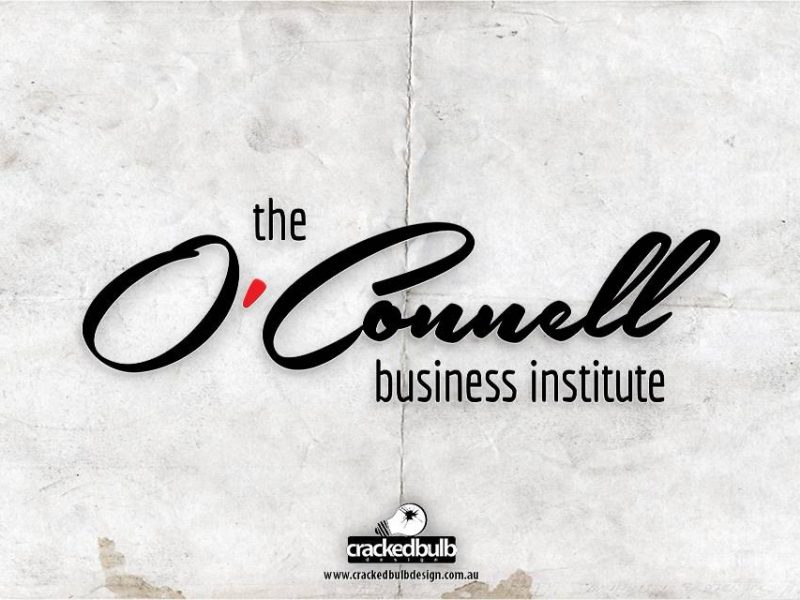 The O'Connell Business Institution Logo Design
