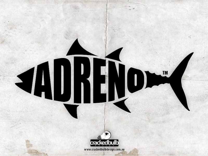 Adreno Spearfishing Logo Design