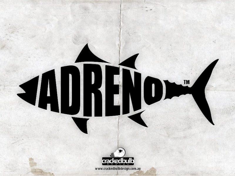Adreno Spearfishing Logo Design