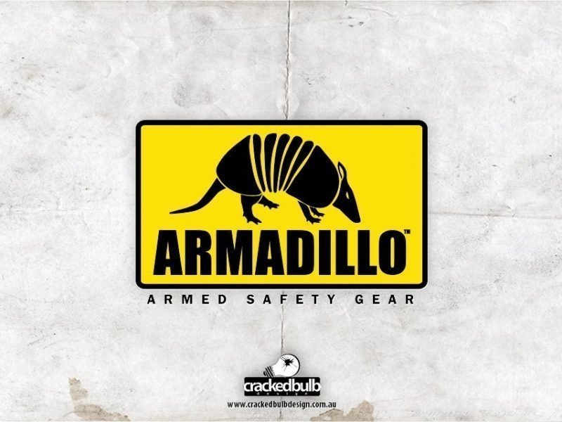Armadillo Safety Gear Logo Design