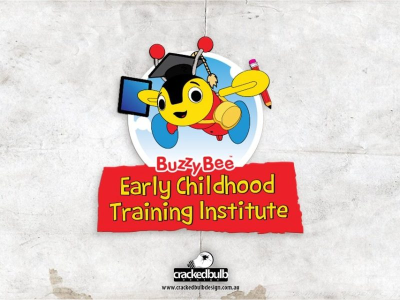 Buzzy Bee Early Childhood Training Institute Logo Design