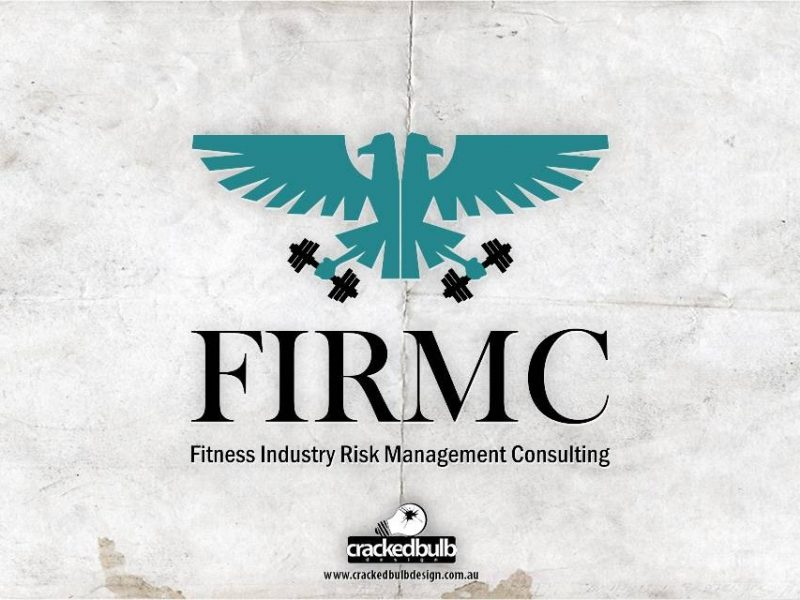 Fitness Industry Risk Management Consulting Logo Design