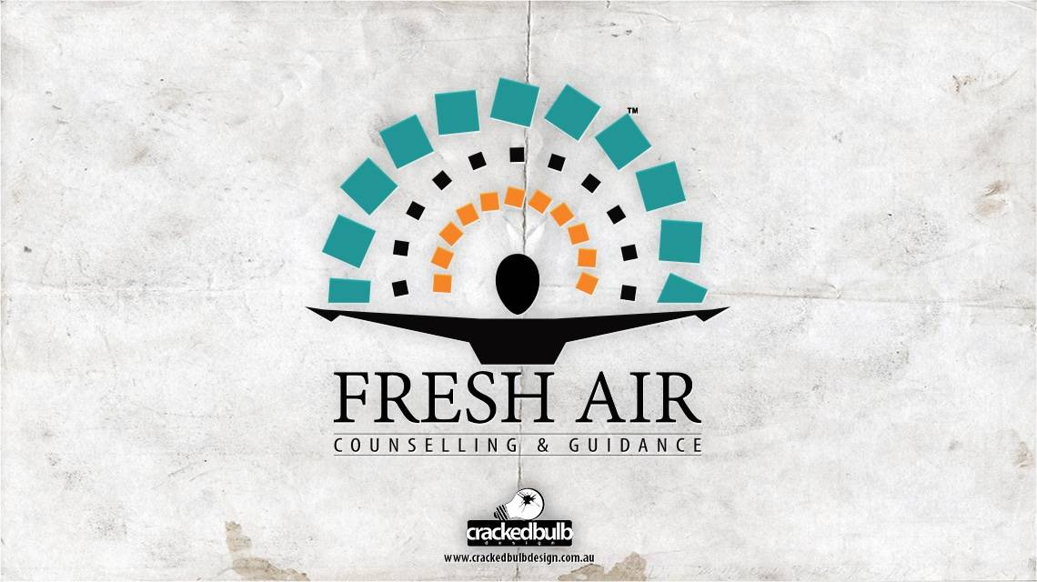 fresh-air-counselling-logo-design-brisbane-cracked-bulb