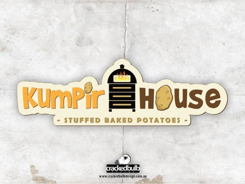 Kumpir House Logo Design