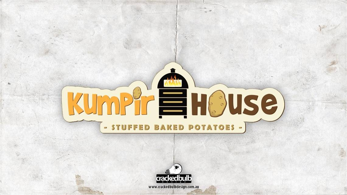 kumpir-house-logo-design-brisbane-cracked-bulb