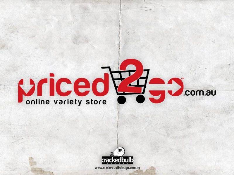Priced2go Logo Design