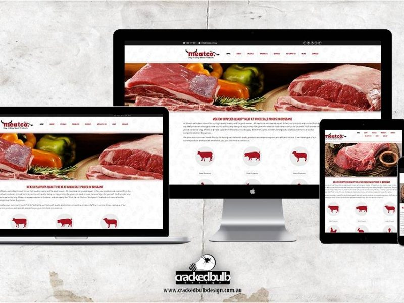 Meatco Website Design