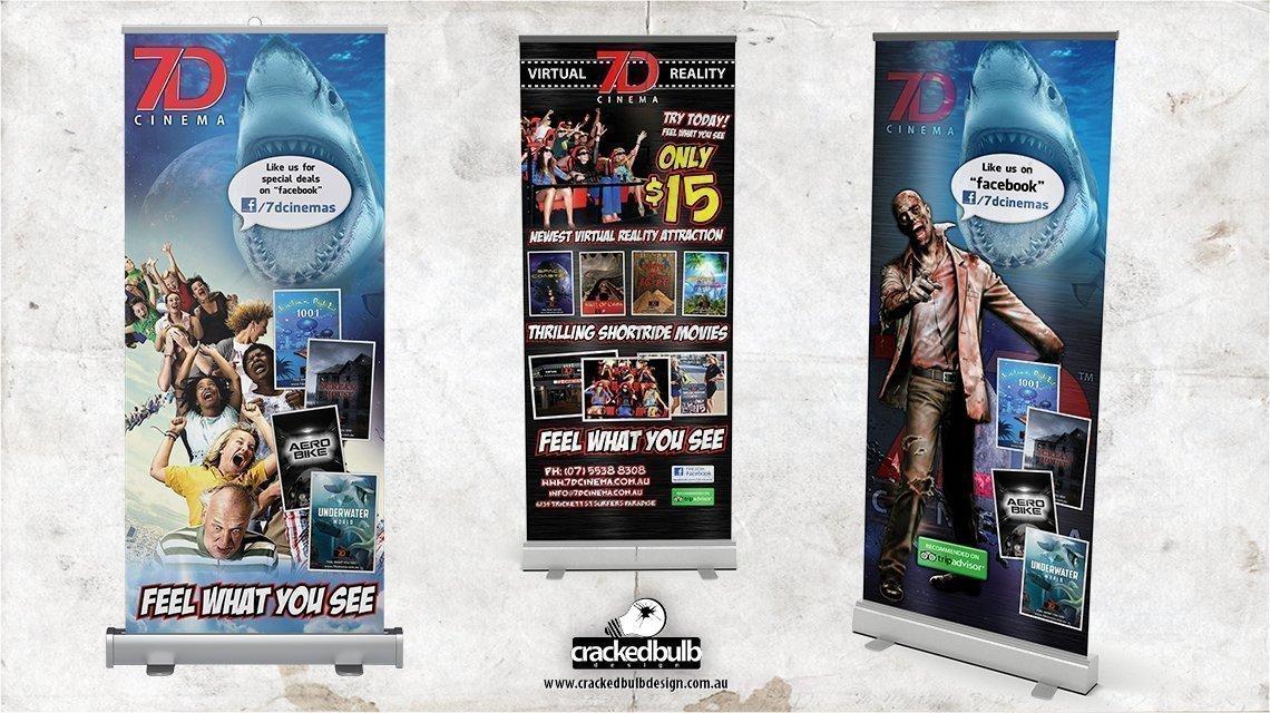 7d-cinema-pull-up-banner-print-design-brisbane-cracked-bulb
