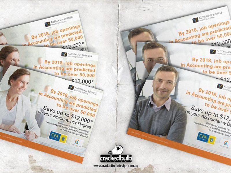 Australian Business Learning Institute Poster Design