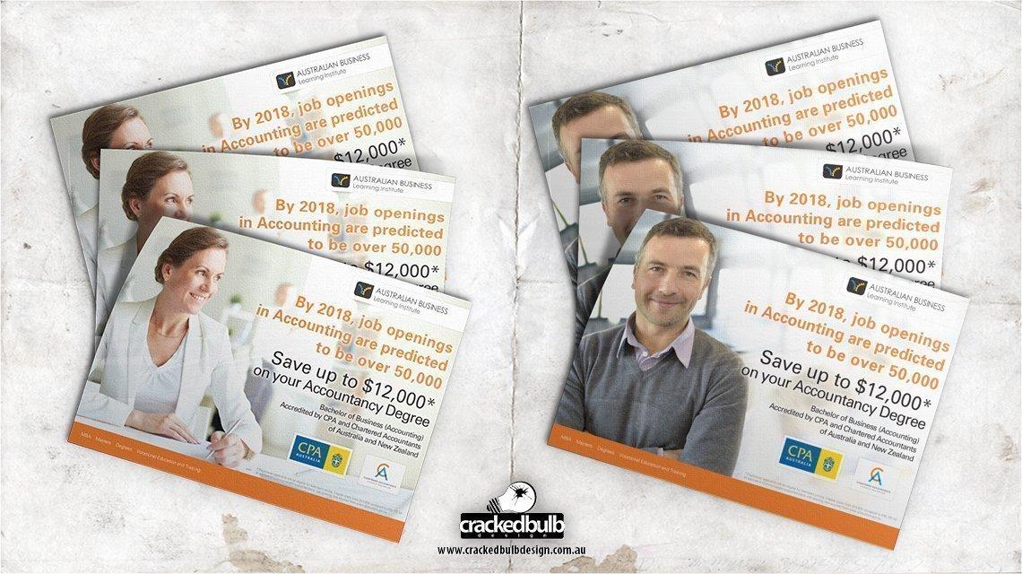 Australian-business-learning-flyer-poster-print-design-brisbane-cracked-bulb