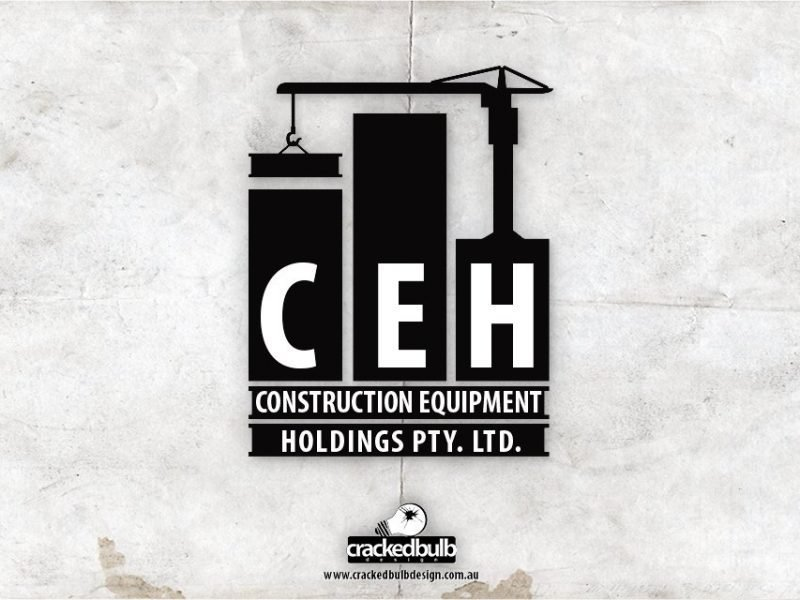 Construction Equipment Holdings Logo Design