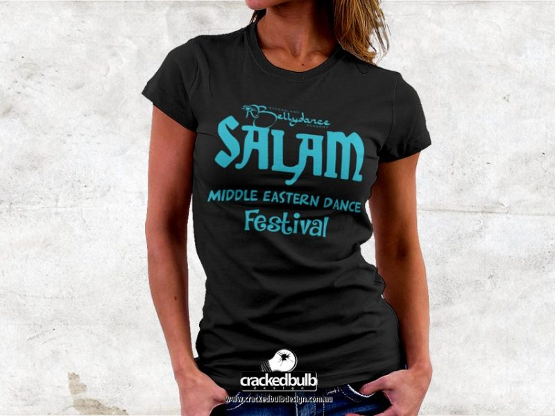 Nerissa Belly Dancer T-Shirt Design