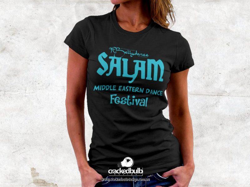 Nerissa Belly Dancer T-Shirt Design