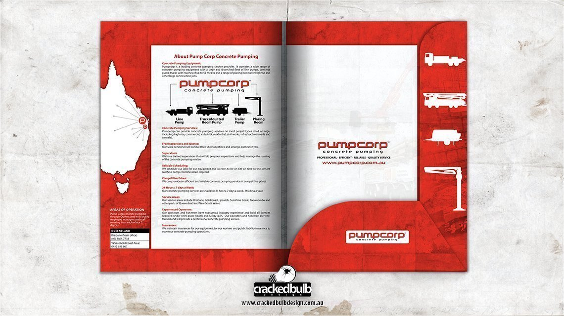 Pumpcorp-concrete-pumping-presentation-folder--print-design-brisbane-cracked-bulb