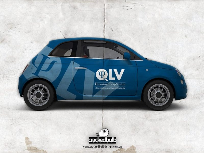 QLV Counselling and Hypnotherapy Vehicle Visuals Design