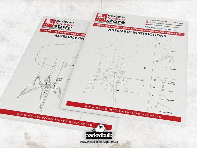 Designer Furniture Store Assembly Instructions Print Design