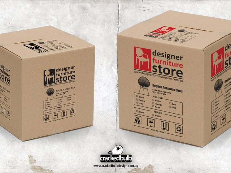 Designer Furniture Store Packaging Design