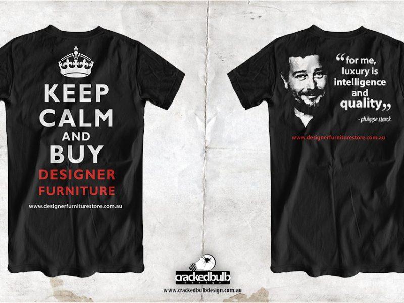 Designer Furniture Store T-Shirt Design