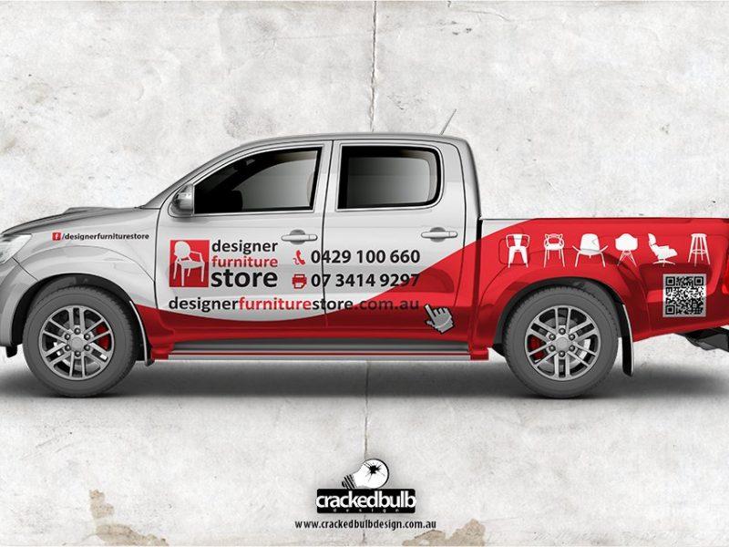 Designer Furniture Store Ute Vehicle Visuals Design