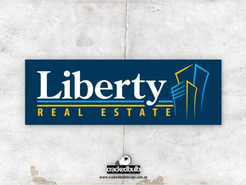 Liberty Real Estate Logo Design