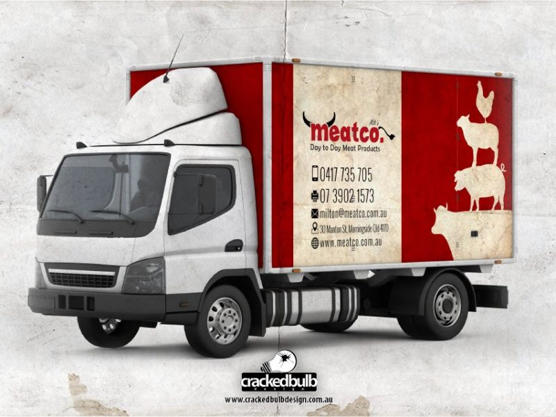 Meatco Vehicle Visuals Design