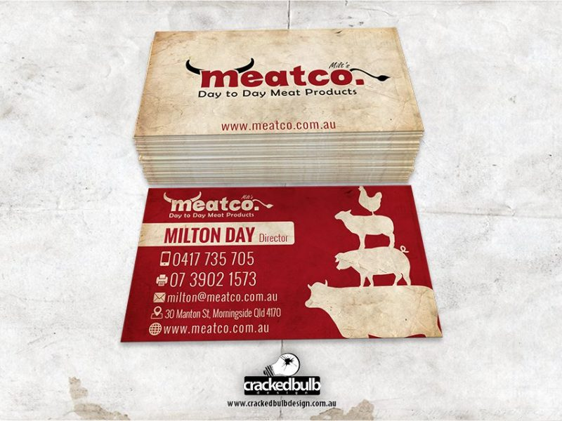 Meatco Business Card Design