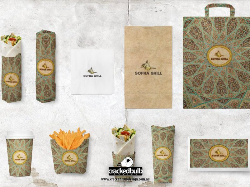 Sofra Grill Food Packaging Design