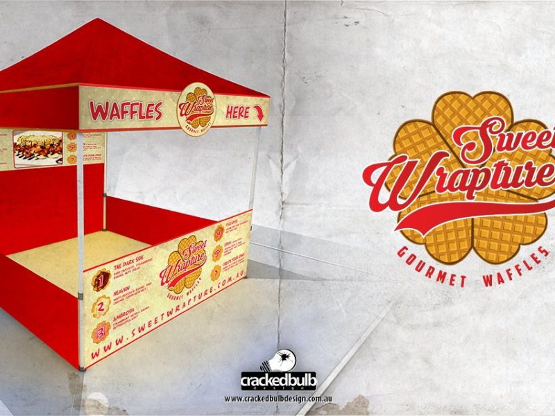 SweetWrapture Market Stall Design