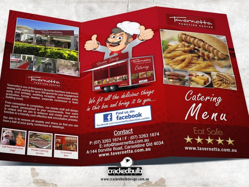 Tavernetta Function Centre DL Flyer Design