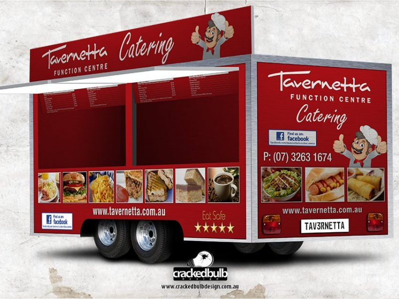 Tavernetta Function Centre Food Van Design