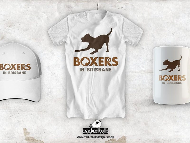 Boxers in Brisbane Merchandise Design