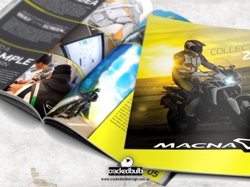 Macna Australia Catalogue Design