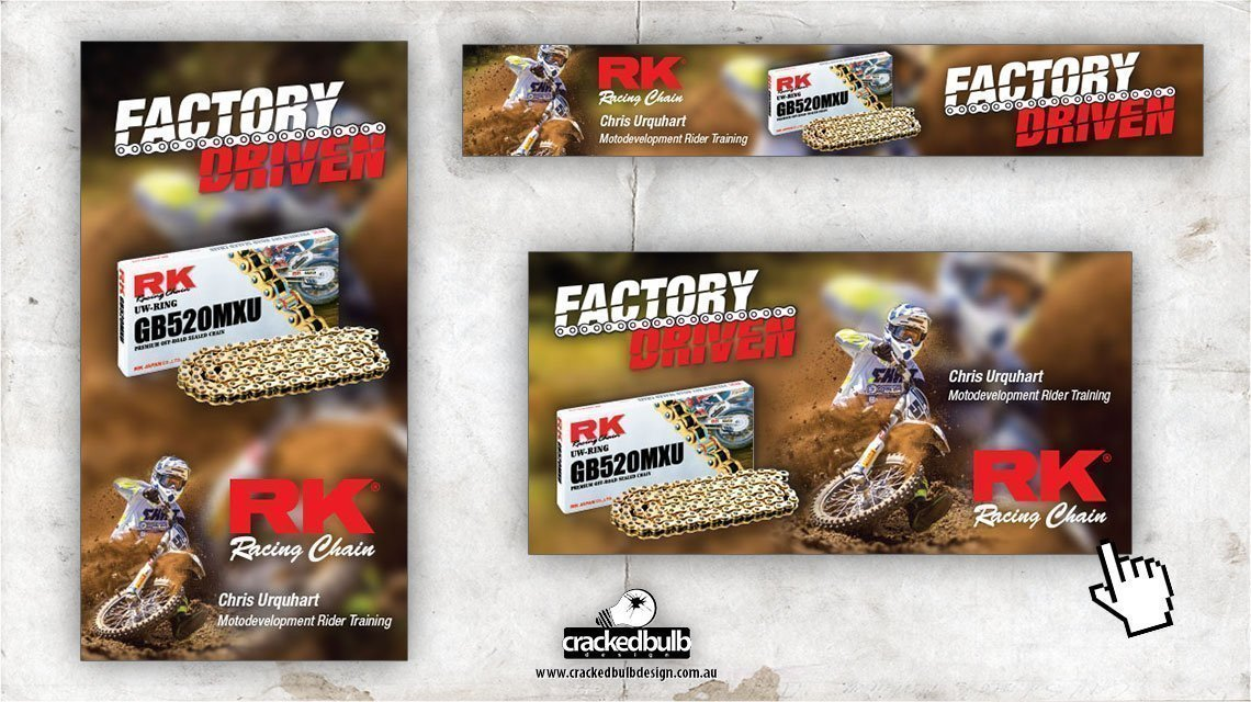 rk-motorcycle-racing-chain-web-banner-design-brisbane-cracked-bulb