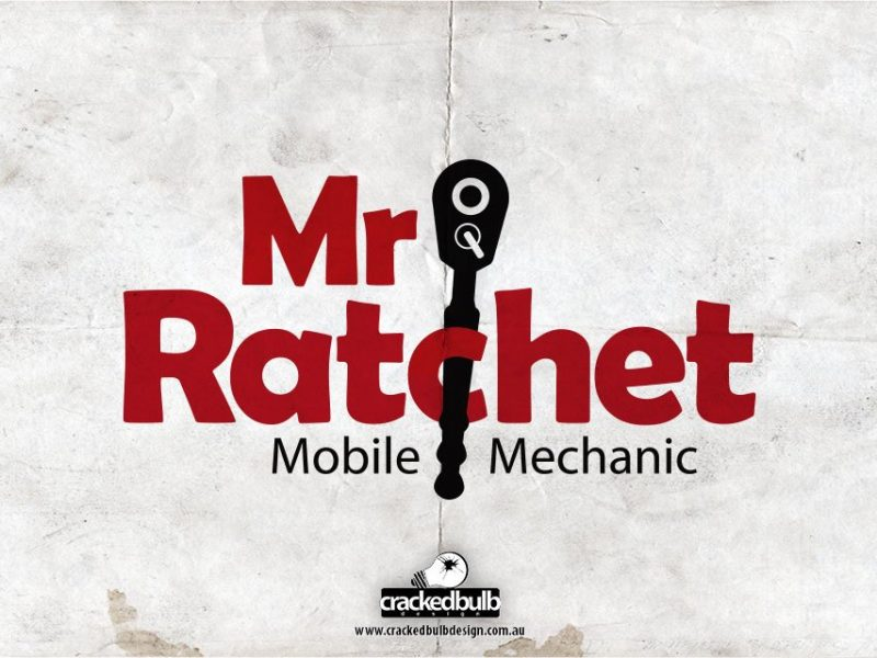 Mr Ratchet Mobile Mechanic Logo Design