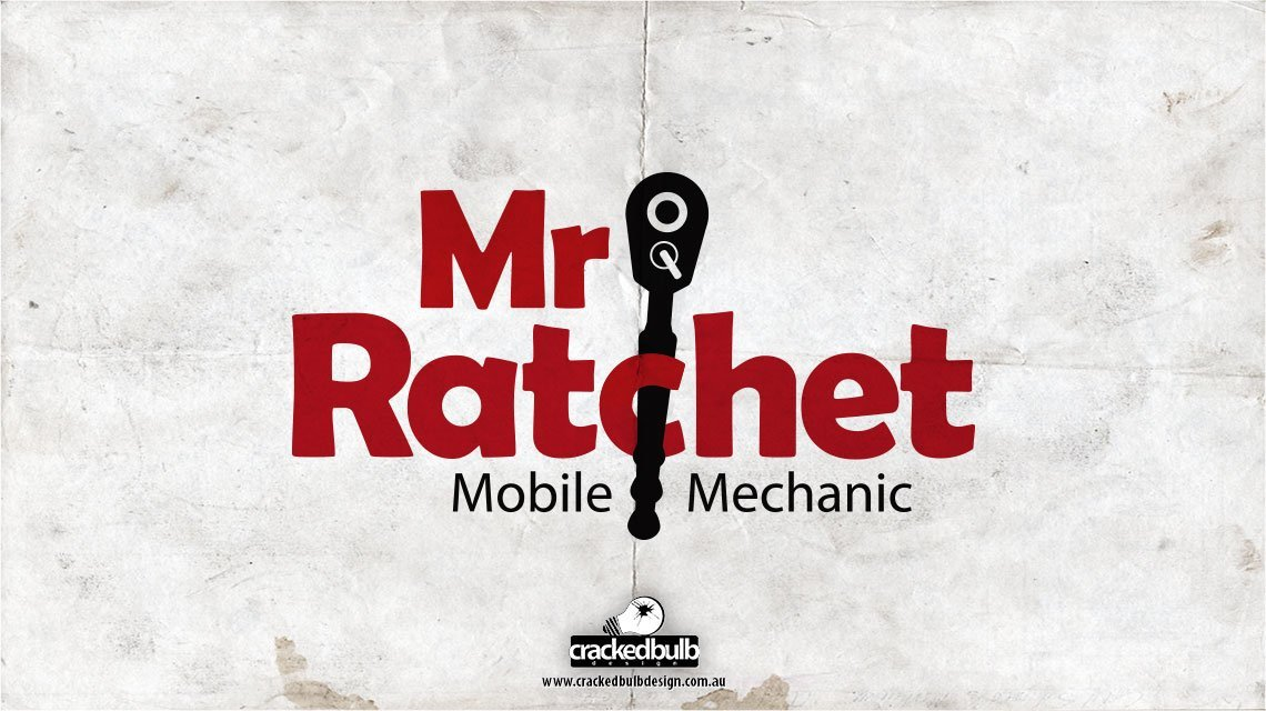 Mr-Ratchet-mobile-machanic-logo-design-brisbane-cracked-bulb