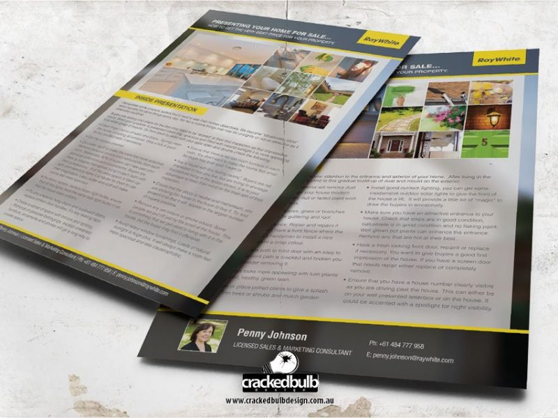 Ray White Aspley Brochure Design