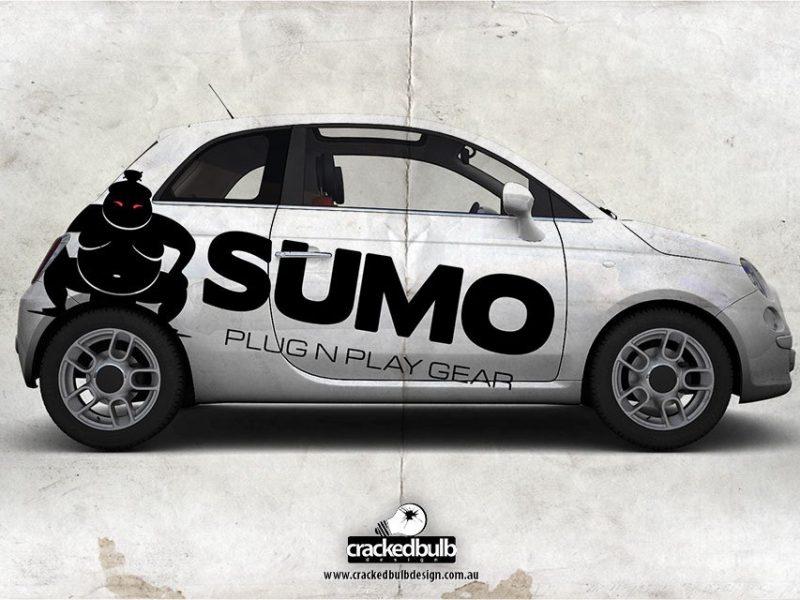 Sumo Plug n Play Gear Logo Design