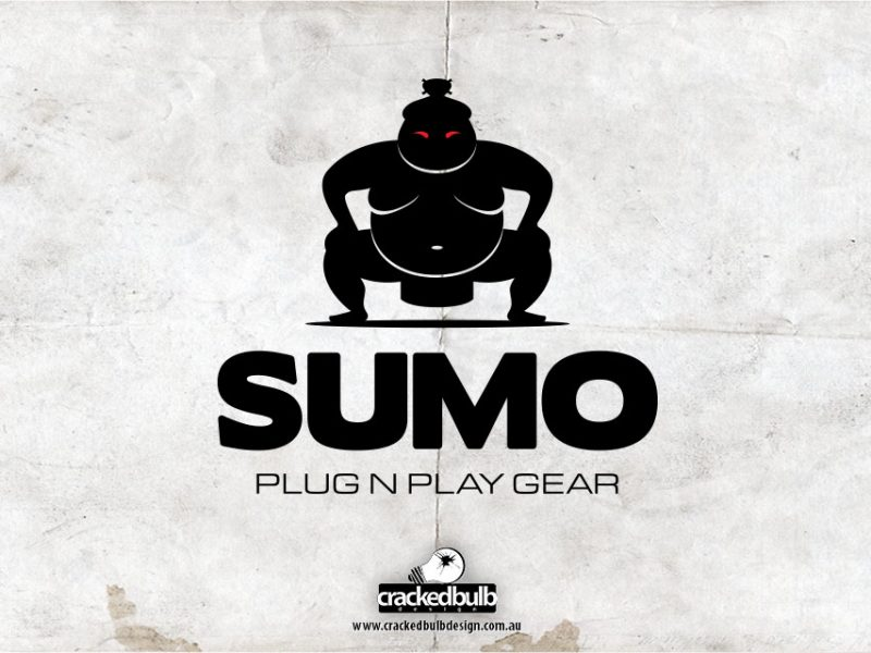 Sumo Plug n Play Gear Logo Design