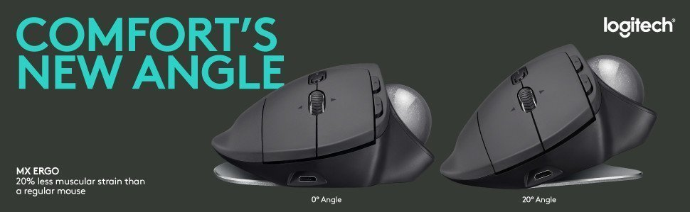 Logitech MX ERGO review: A trackball mouse that's to die for