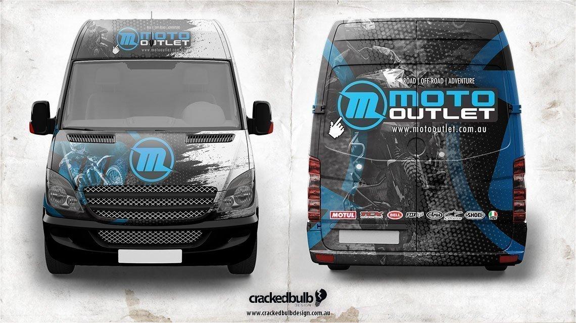 Moto-outlet-motorcycle-shop-vehicle-wrap-brisbane-cracked-bulb-3