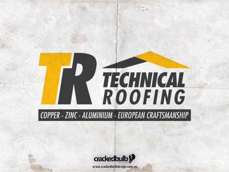 Technical Roofing Logo Design