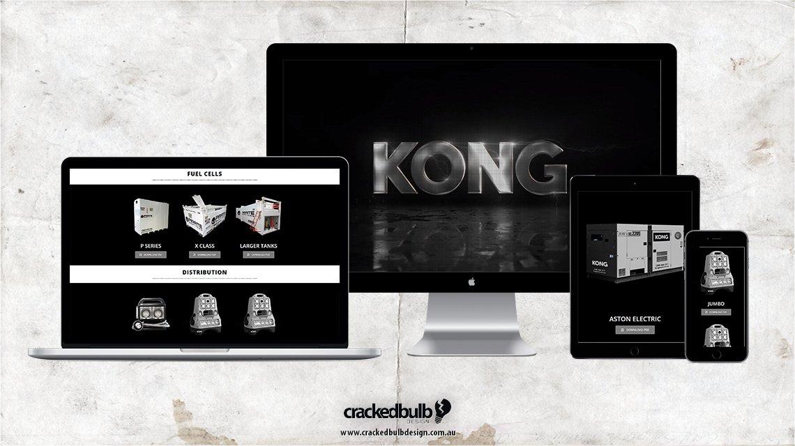 Kong Power Web Design